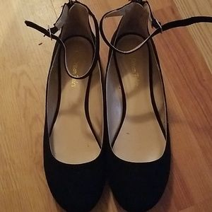 Woman ankle flats